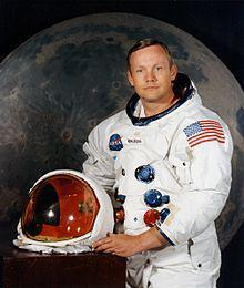 The First Man to Walk On the Moon