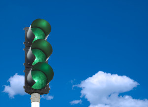 How do you give a green light to change in your organization?