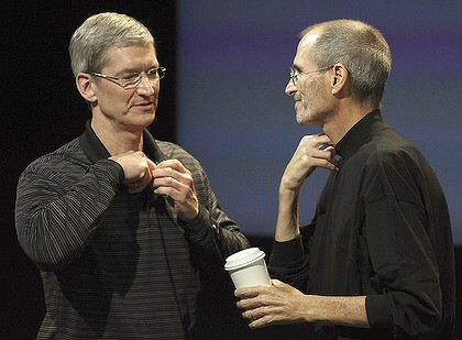 How did Steve Jobs and Tim Cook build a great succession plan?