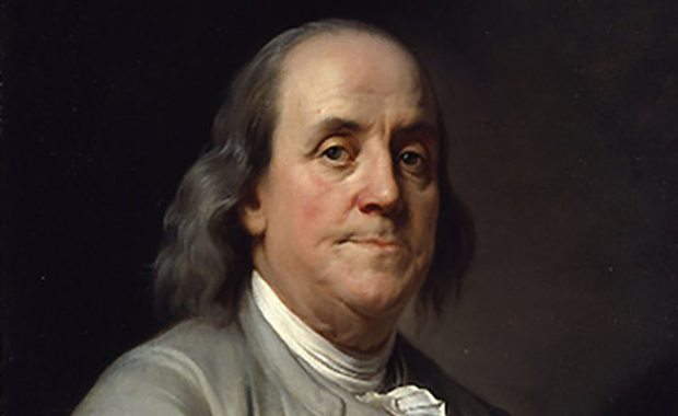 How did Ben Franklin become an influential serving leader?